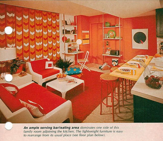 Home Design 60s Decor For Antique Ideas Peace Party. Post 3 1960s Interior  Design 2016 Green And