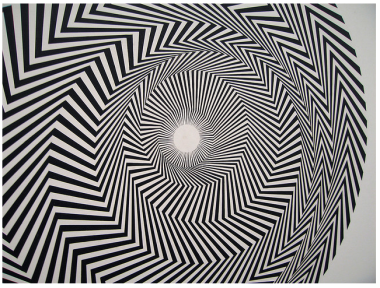 9. BRIDGET RILEY OP ART