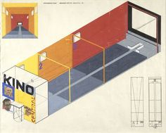 Designs for a Cinema [1924-5]