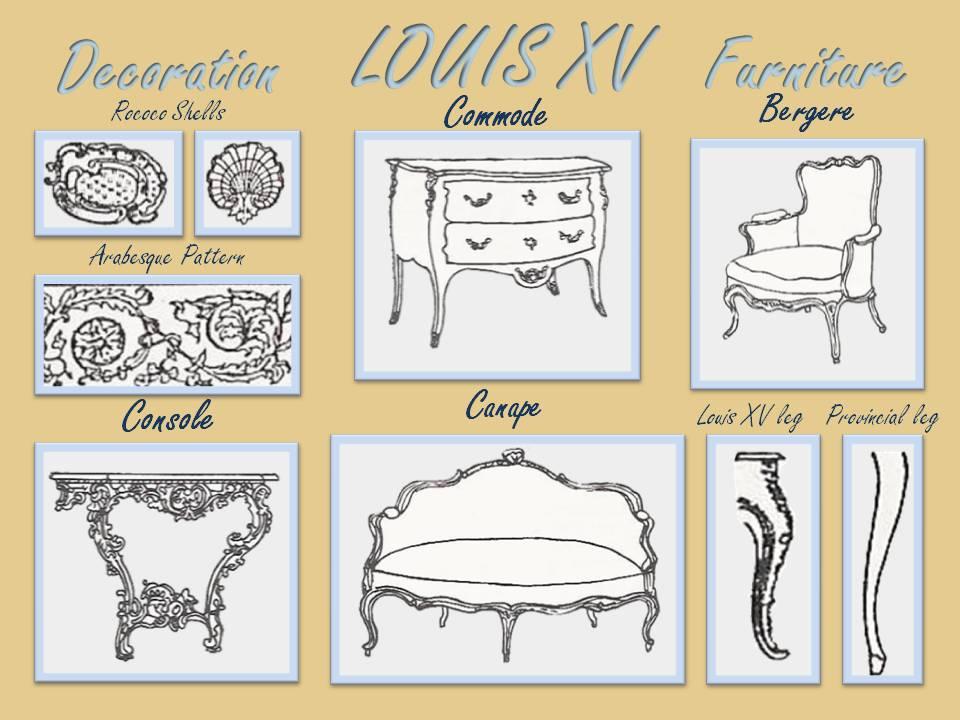 Louis XV Furniture ...
