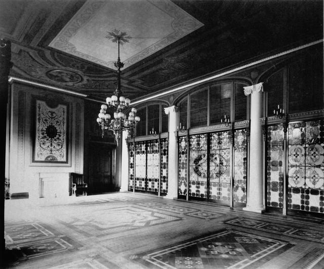 white-house-entrance-hall-tiffany-studios-design
