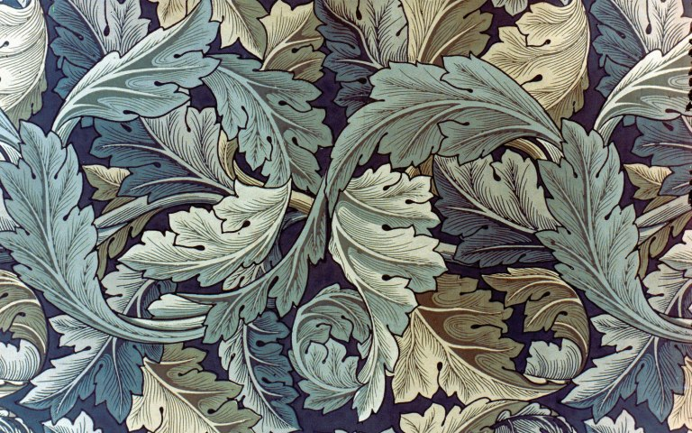 william morris red house wallpaper
