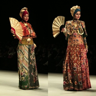 Dian Pelangi - Indonesia Fashion Week 2014 - Kingdom of Indonesia - Muslimwear (11)